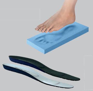 Πάτοι Παπουτσιών Ανατομικοί με Αφρό